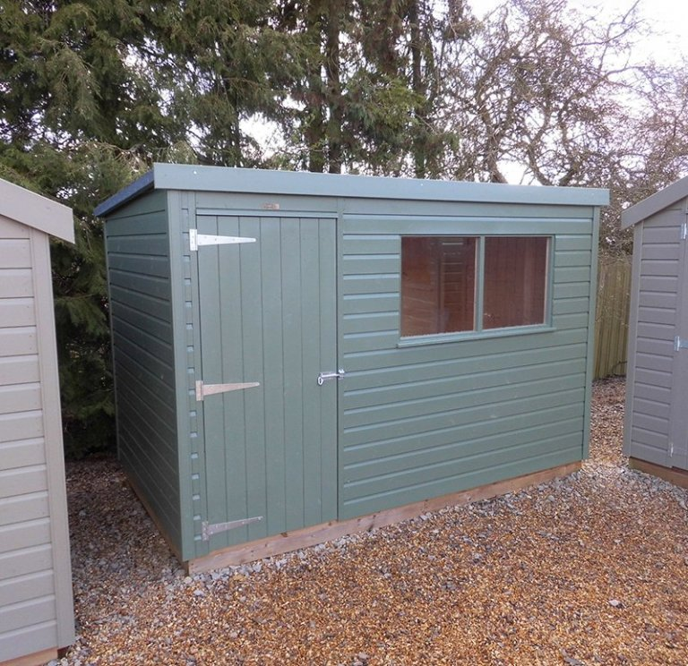 1.8 x 3.0m Classic Shed at Burford