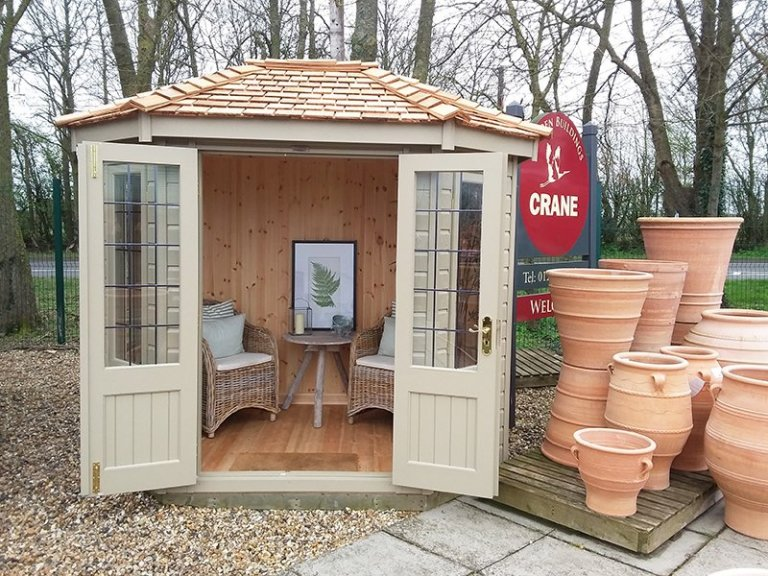 Brighton 1.8 x 2.5m Furnished Wiveton Summerhouse