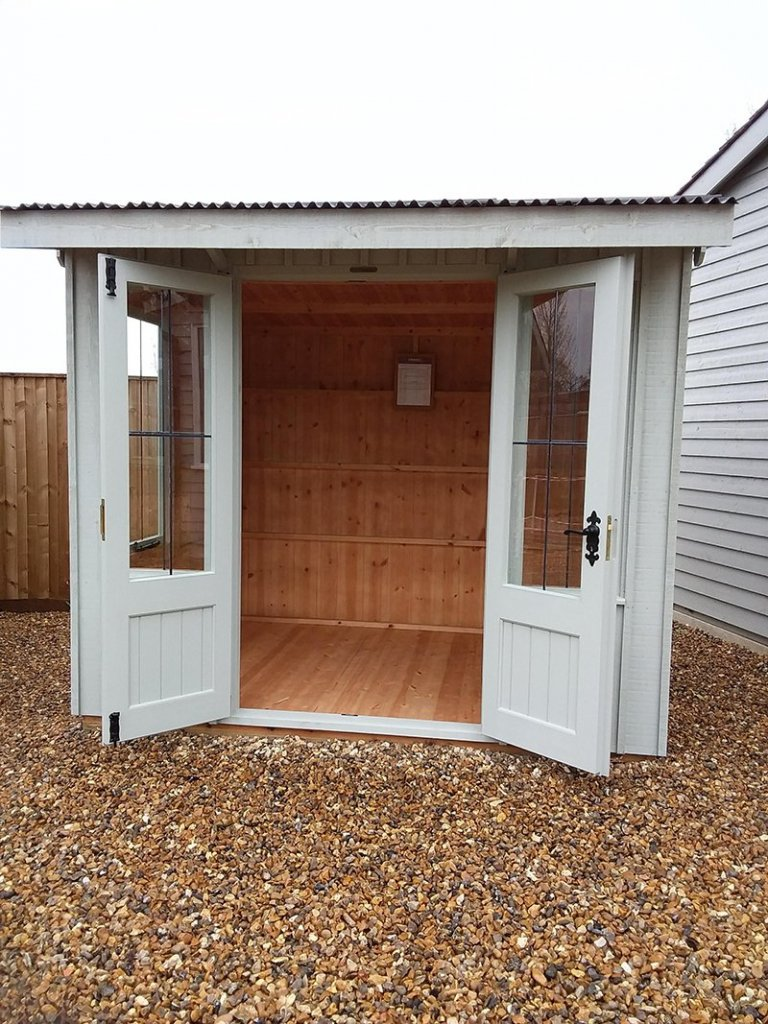 1.8 x 2.4m National Trust Flatford Summerhouse at Cranleigh