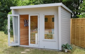 2.4 x 3.0m Classic Office with Pent Roof