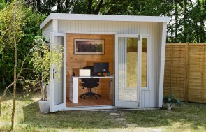 2.4 x 3.0m Classic Dressed Garden Office