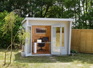 2.4 x 3.0m Classic Dressed Garden Office