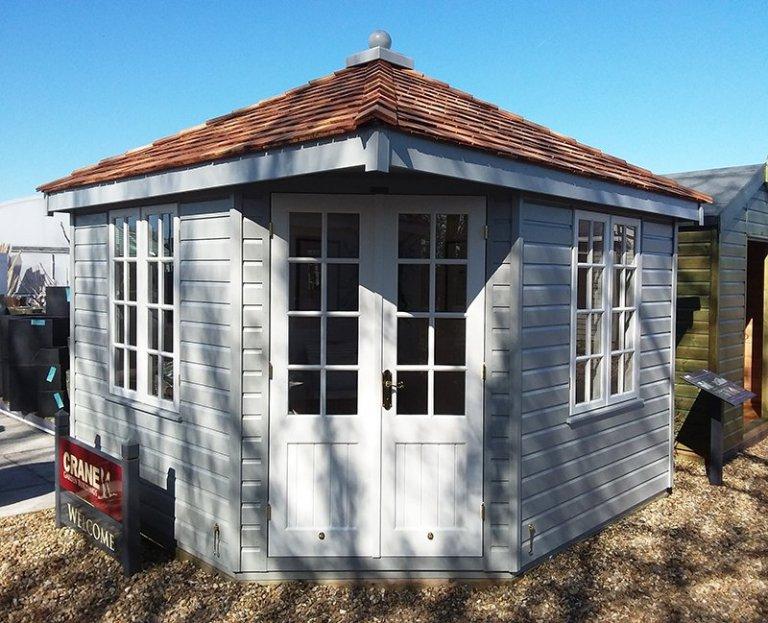 3.0 x 3.0m Weybourne Summerhouse at Brighton