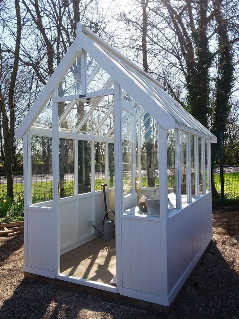 1.8 x 2.4m Greenhouse at Brighton