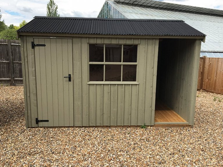 2.4 x 3.6m Blickling National Trust Shed at Cranleigh