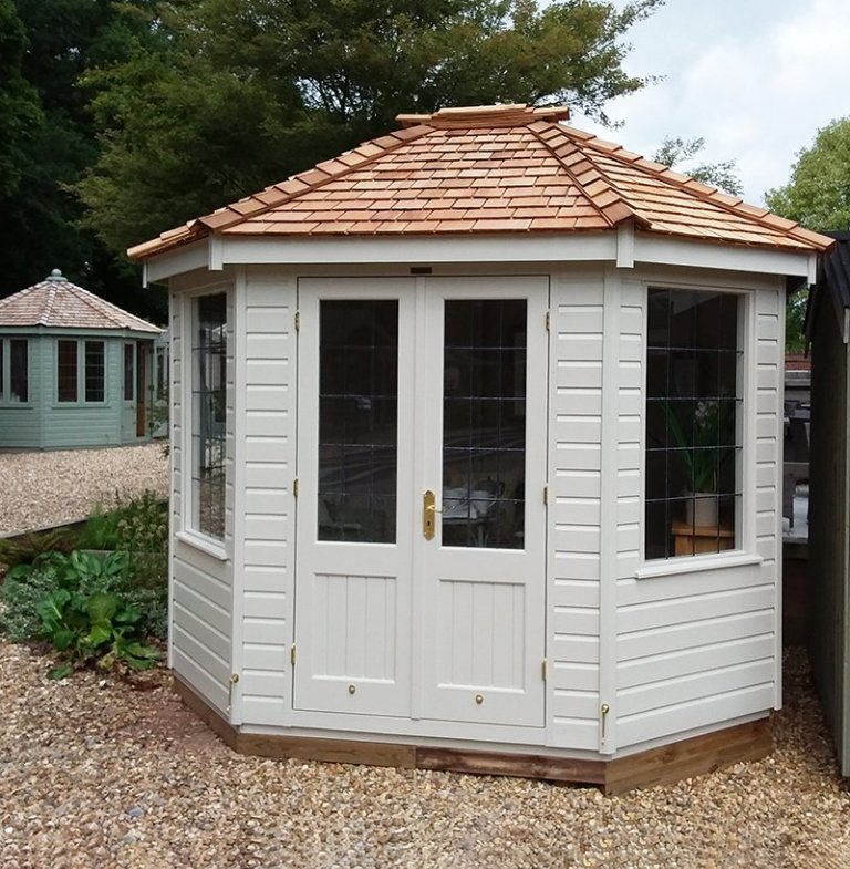 Side view of the Classic Summerhouse at Newbury