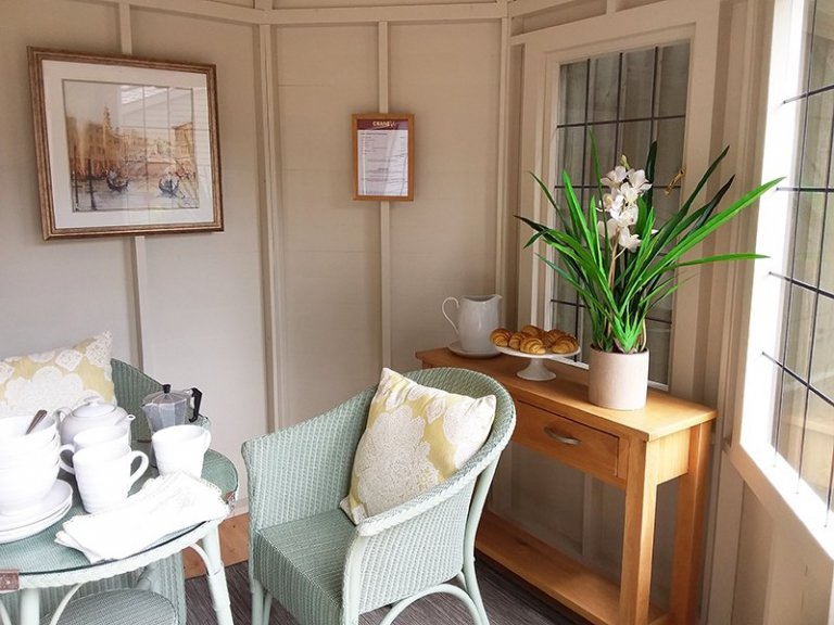 Inside the Classic Summerhouse at Newbury