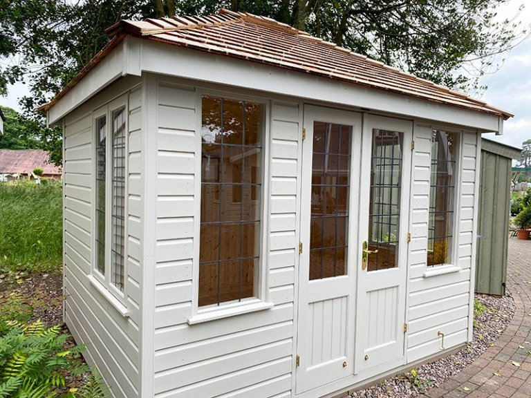 2.4 x 3.0m Cley Summerhouse at Trentham
