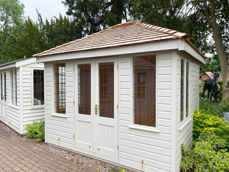 Trentham's 2.4 x 3.0m Cley Summerhouse