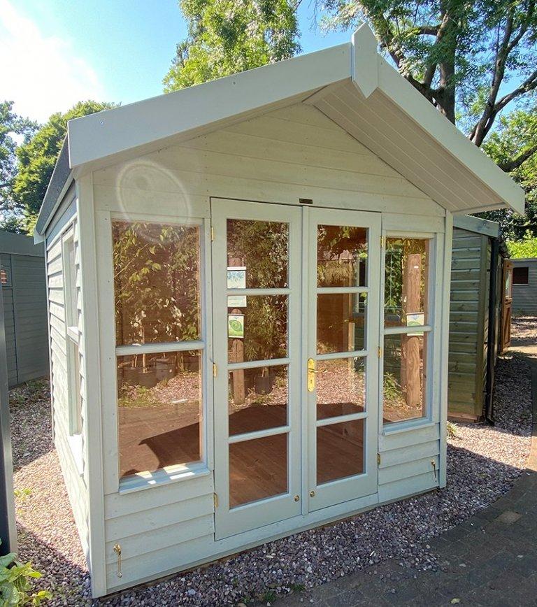 2.4 x 2.4m Blakeney Summerhouse at Trentham