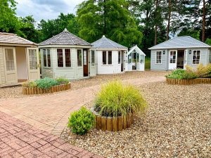 Sunningdale Site - Wiveton Summerhouses, Garden Room and Greenhouse