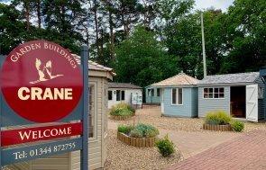 Superior Shed and Weybourne Summerhouse at Sunningdale
