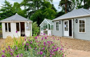 Wiveton, Greenhouse and Garden Room at Sunningdale Show Site