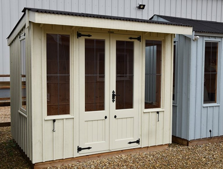 1.8 x 2.4m Flatford National Trust Summerhouse at Narford