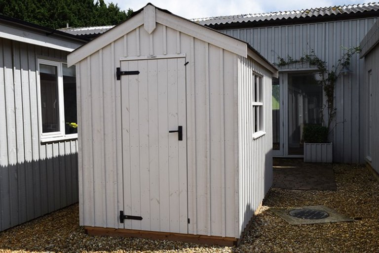 1.8 x 3.0m National Trust Peckover Shed at Narford