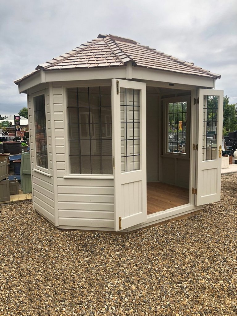 Side view of St Albans' 2.4 x 3.0m Classic Summerhouse