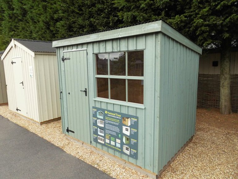 1.8 x 2.4m Oxburgh Shed at our Burford Show Centre