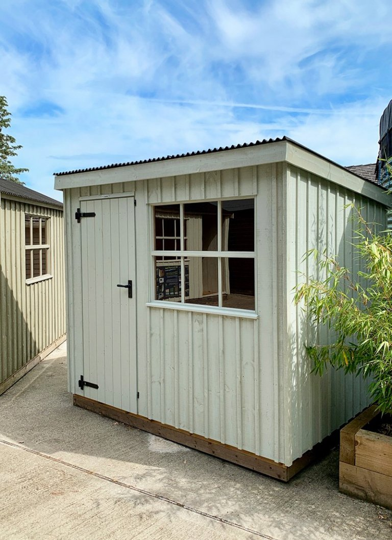 1.8 x 2.4m Oxburgh Shed at Our Sunningdale Show Centre