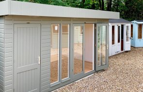 3.6 x 4.8m Salthouse Studio at Sunningdale painted in Ash