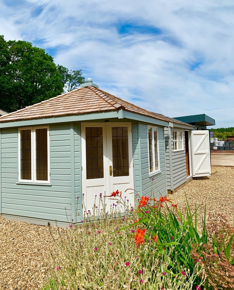 3.0 x 3.0m Weybourne Summerhouse at Sunningdale