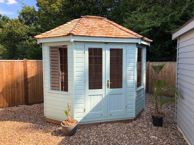 2.4 x 3.0m Classic Summerhouse at Cranleigh