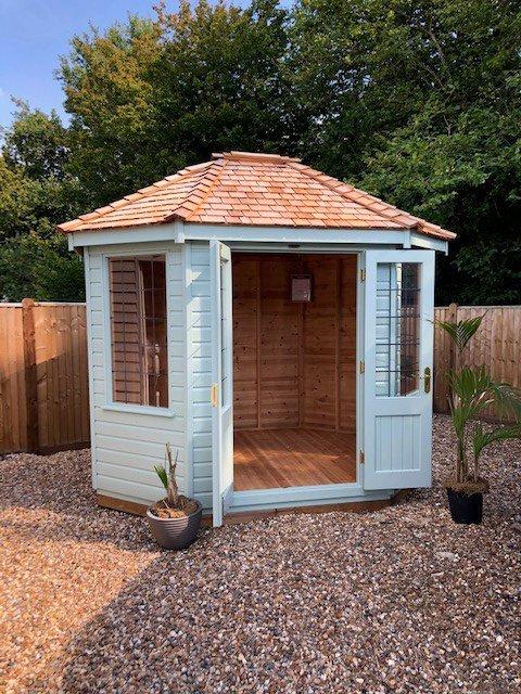 Cranleigh's 2_4 x 3_0m Classic Summerhouse