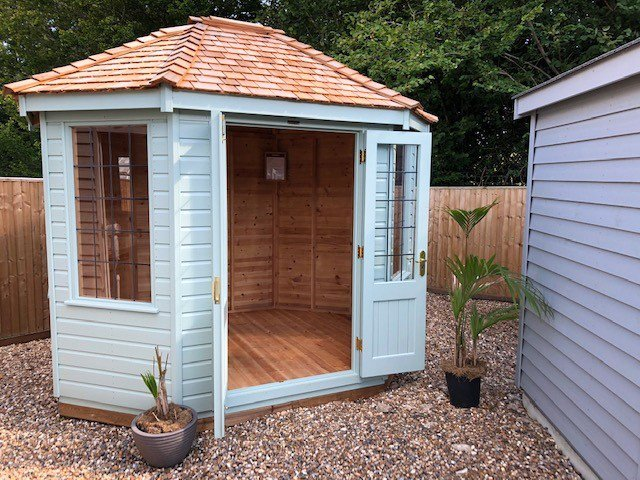Cranleigh's Classic Summerhouse measuring 2.4 x 3.0m