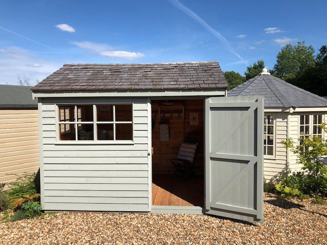 2.4 x 3.0m Superior Shed at Cranleigh