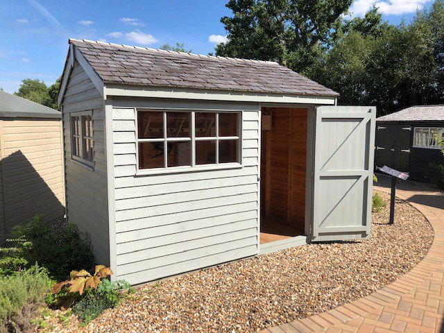 Cranleigh's 2.4 x 3.0m Superior Shed