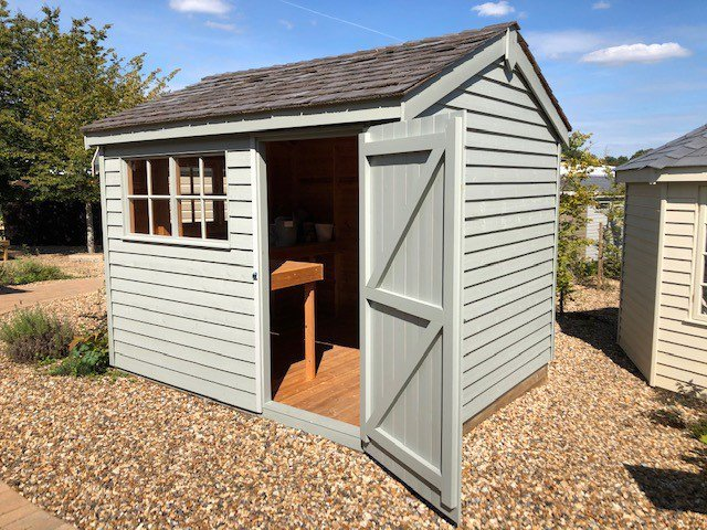 Cranleigh's Superior Shed measuring 2.4 x 3.0m