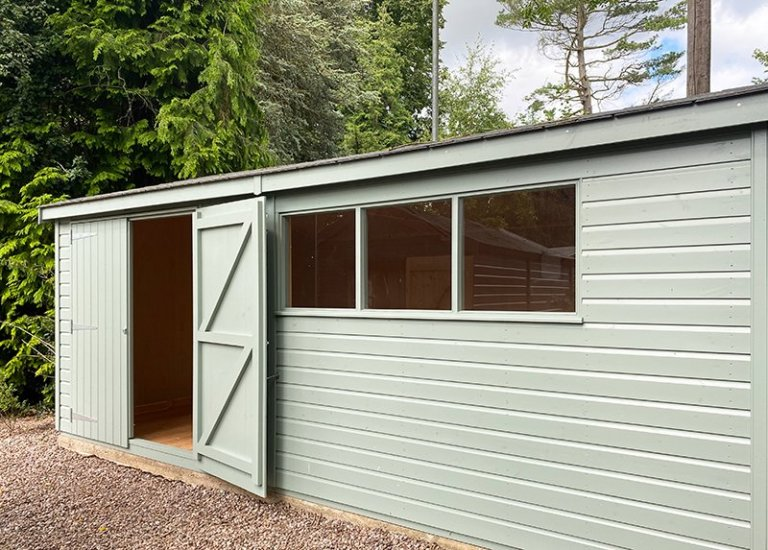 Trentham's 3.6 x 5.4m Superior Shed