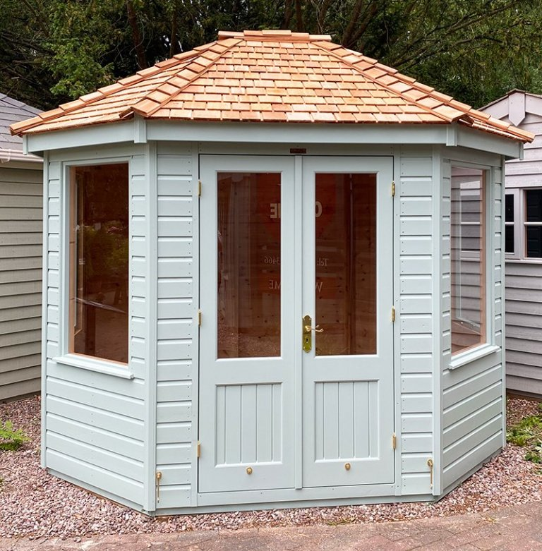 2.4 x 3.0m Classic Summerhouse at Trentham