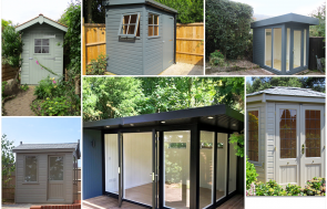 3 Garden Building Types to Suit Small Gardens including sheds, studios and summerhouses