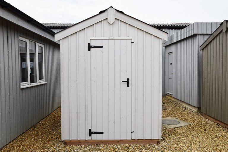 Narford's 1.8 x 3.0m National Trust Peckover Shed