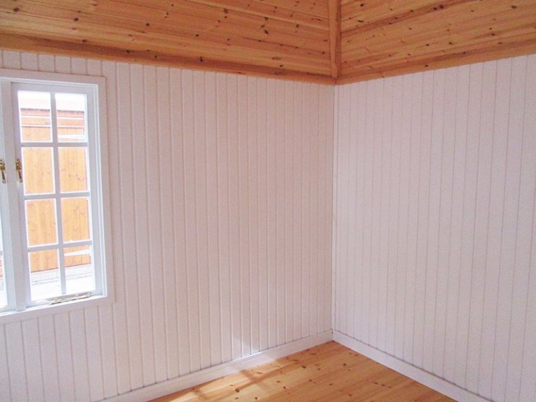 Interior of the 3.0 x 3.6m Cley Summerhouse at Sunningdale