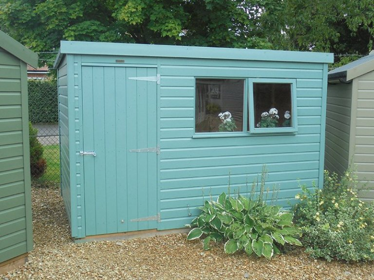 1.8 x 3.0m Classic Shed at Newbury