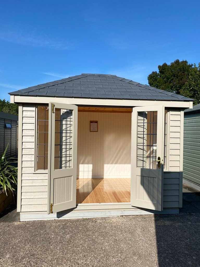 2.4 x 3.0m Cley Summerhouse at Nottingham