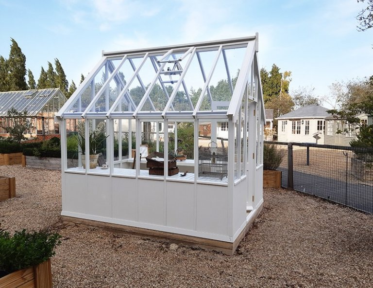 Burford's 2.4 x 3.0m Greenhouse