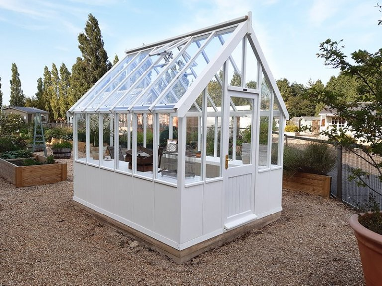 2.4 x 3.0m Greenhouse at Burford