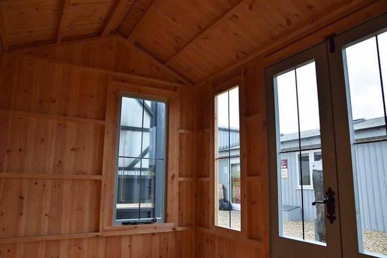 Narford HQ's unlined 1.8 x 3.0m National Trust Lavenham Summerhouse