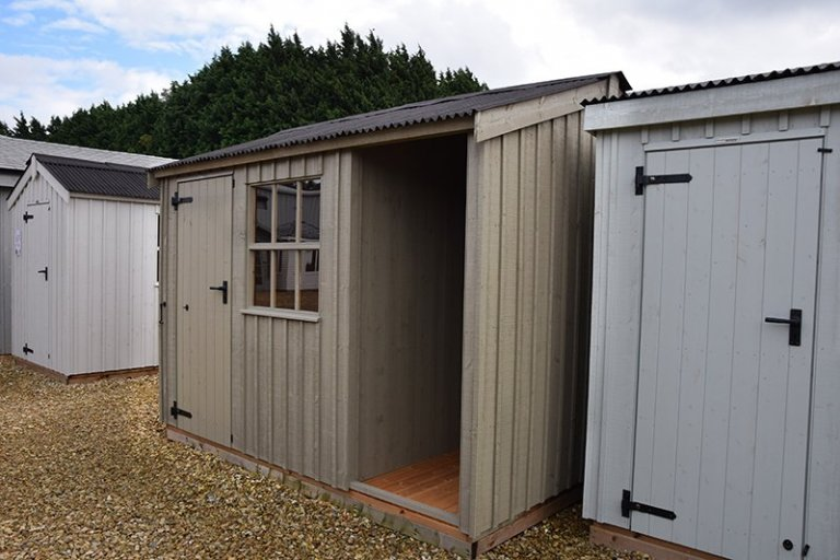 2.4 x 3.0m National Trust Blickling Shed at Narford HQ