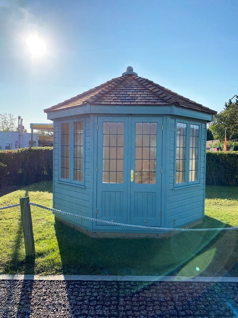 3.0 x 3.0m Wiveton Summerhouse at St Albans