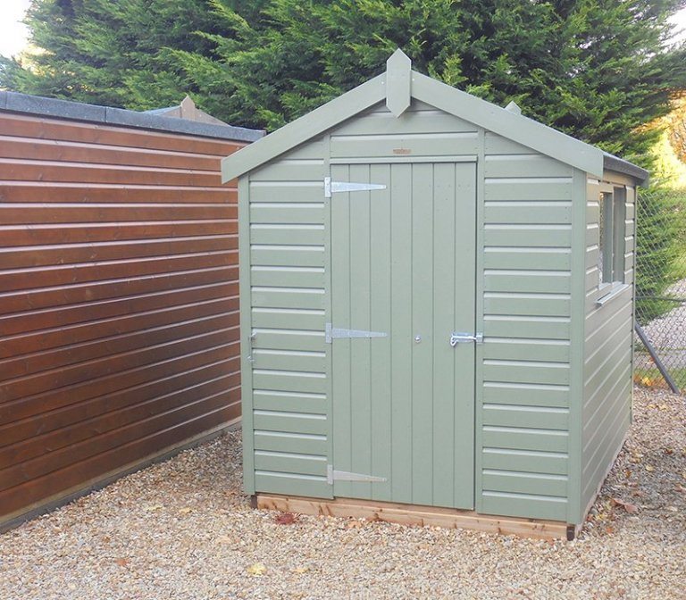 1.8 x 2.4m Classic Shed at Newbury