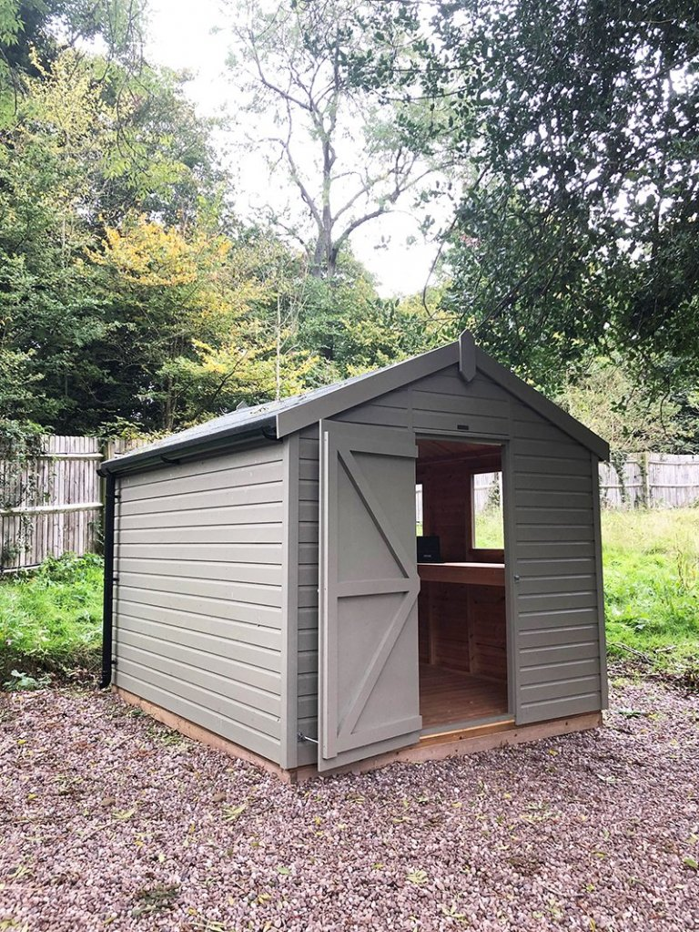 Trentham's 2.4 x 3.0m Classic Shed