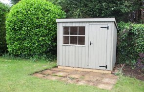 1.8 x 2.4m Oxburgh National Trust Shed in Wades Lantern