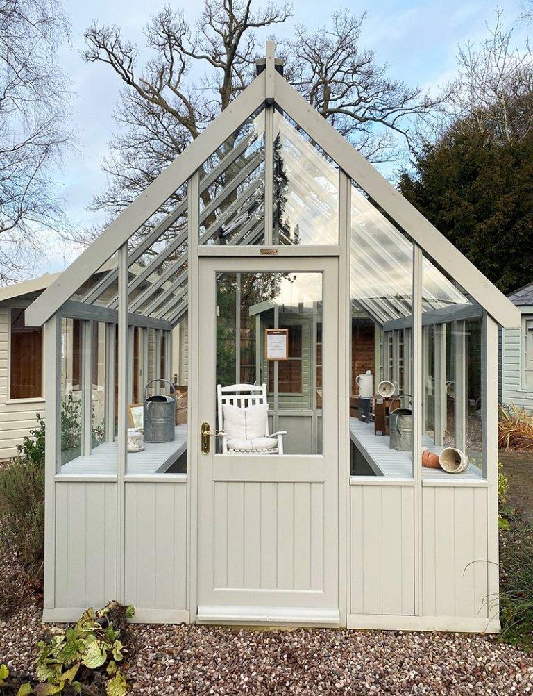 Greenhouse - 2.4m x 3.0m (8ft x 10ft)