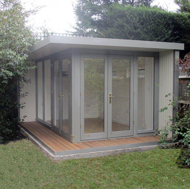 4.2 x 3m Holt Studio in Exterior Ash & Sandstone