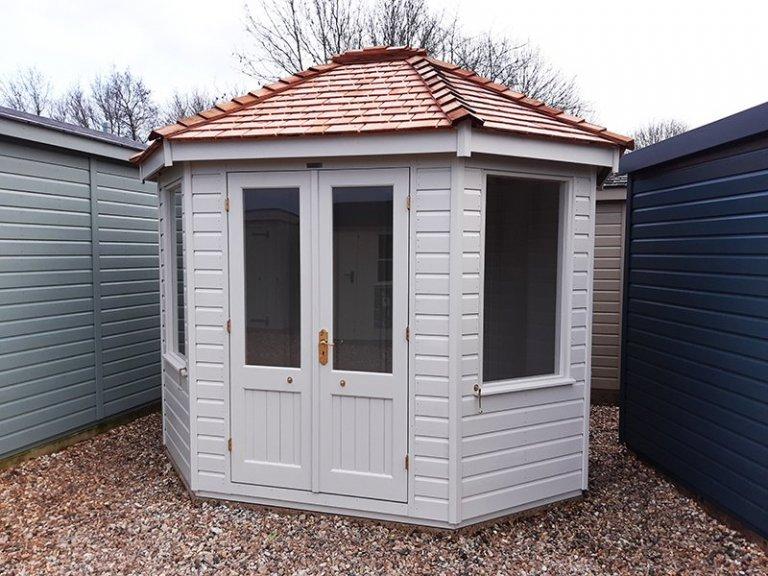 Brighton's 2.4 x 3.0m Classic Summerhouse