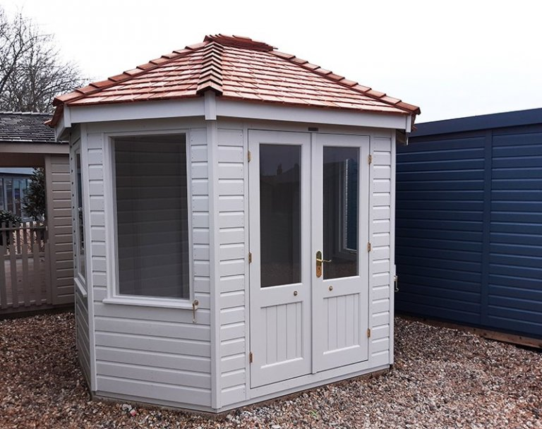 2.4 x 3.0m Classic Summerhouse at Brighton