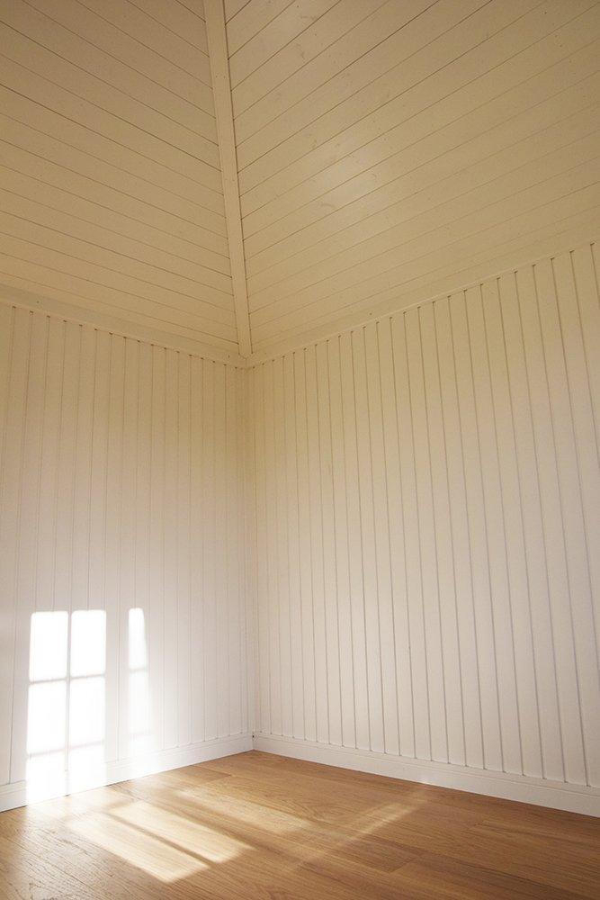 Inside Narford's 3.0 x 3.0m Weybourne Summerhouse